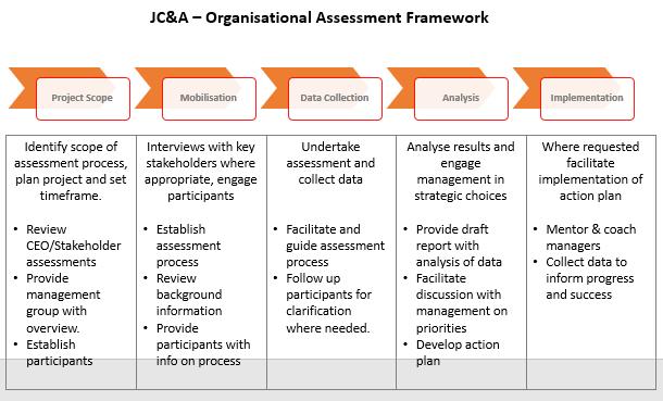 organisational assessment framework
